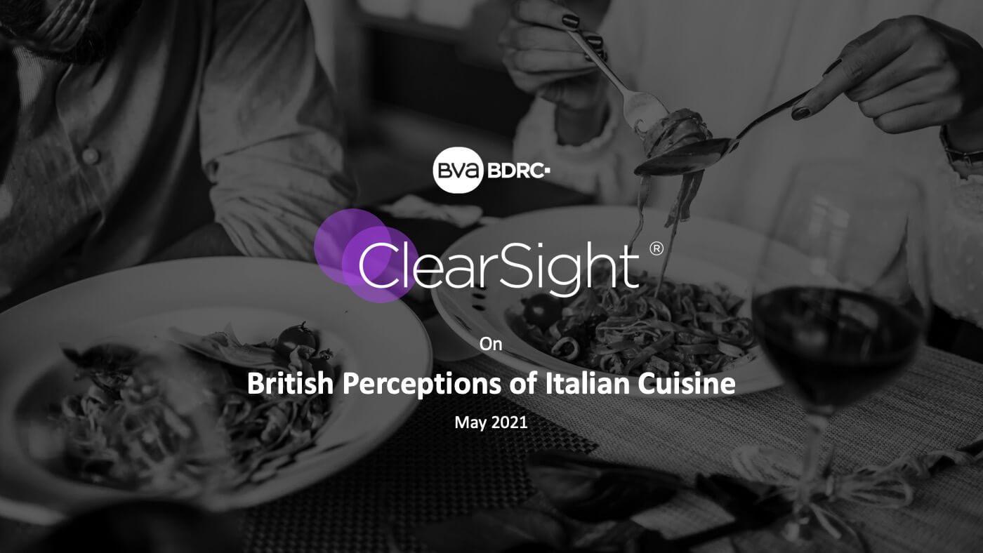 Clearsight On Italian Food Perceptions 01