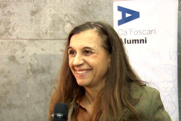 Marina Salamon, Ca' Foscari Alumnus alla Carriera 2017
