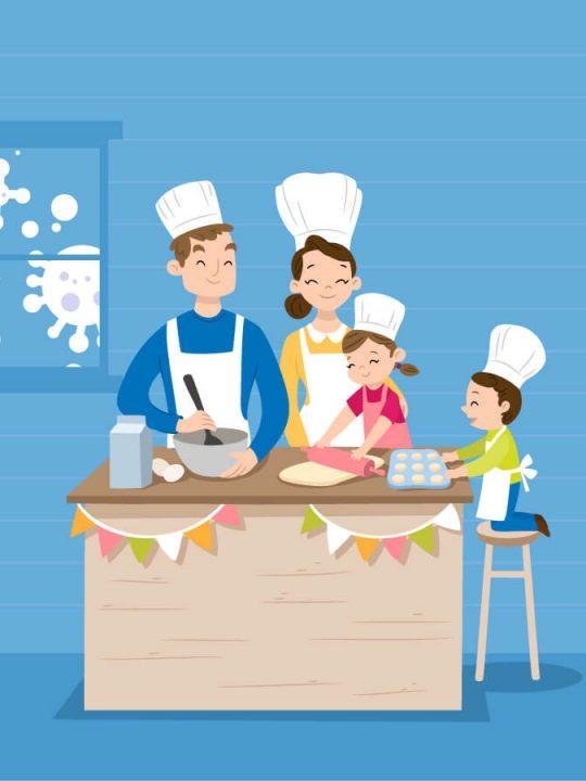 "Vita ""casalinga"" e cucina ai tempi del Coronavirus"