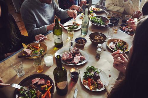 cena amici mondiali brasile 2014