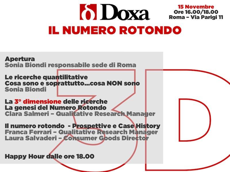 invito numero rotondo roma bianco quadrato