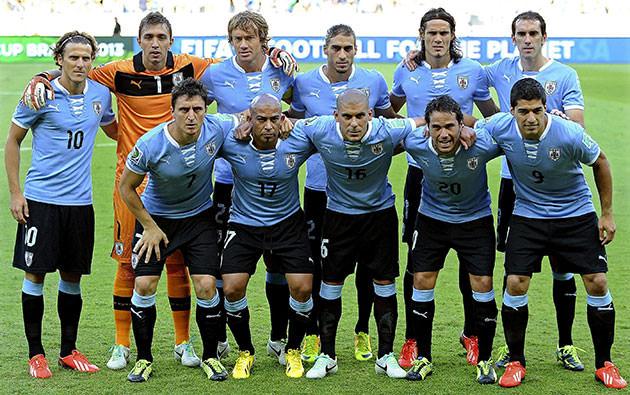 uruguay calcio nazionale -2014